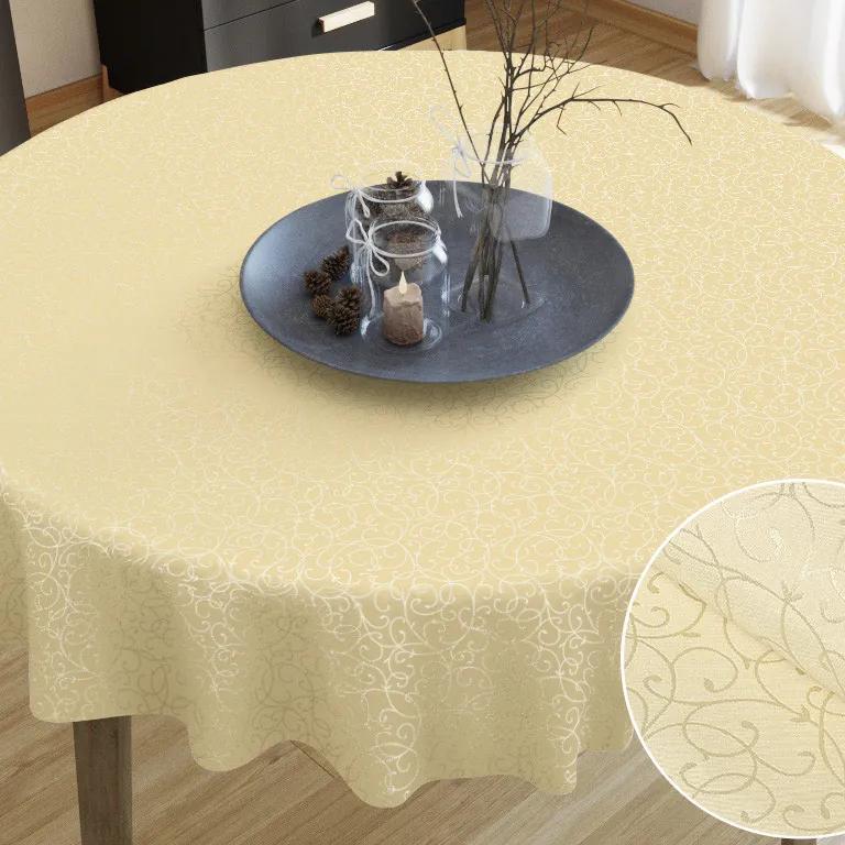 Goldea față de masă din teflon de lux - model 376 - rotundă Ø 170 cm