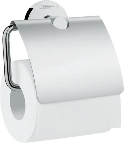 Suport hartie igienica Hansgrohe Logis Universal, crom