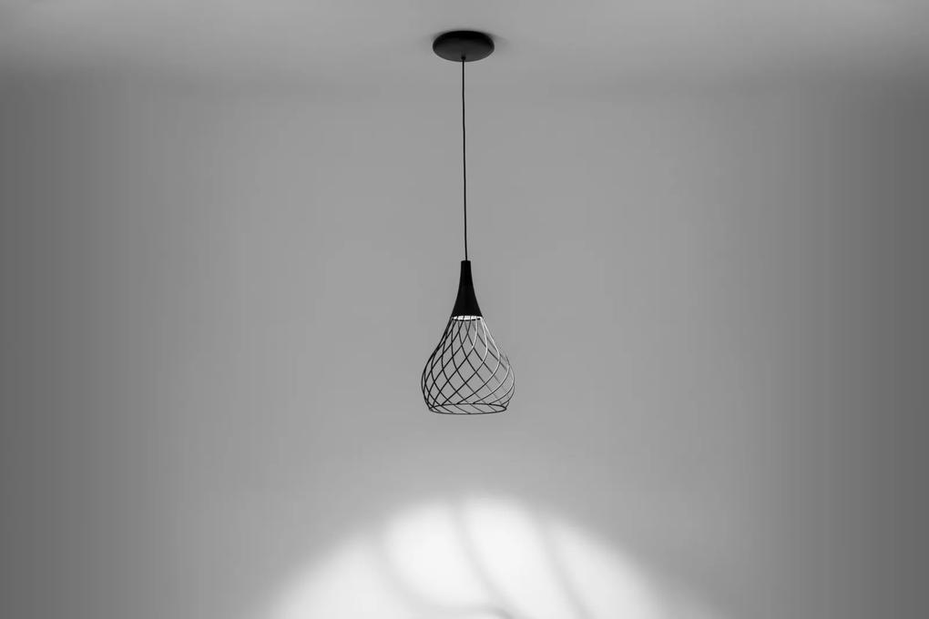 Mongolfier P1 - Pendul LED negru