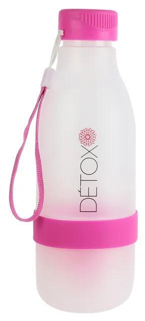 Sticla cu storcator citrice CMP Detox M2 roz