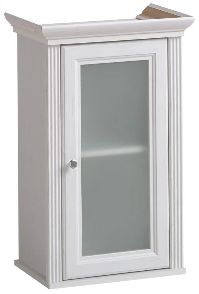 Cabinet de baie Palacio White Alb, 33 cm, 48 cm, 76 cm