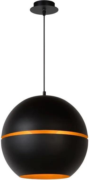 Lucide 77475/35/30 - Lampa suspendata BINARI 1xE14/40W/230V negru