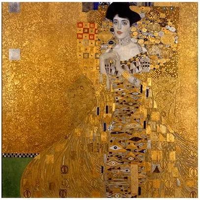 Reproducere tablou Gustav Klimt - Bauer I, 60 x 60 cm