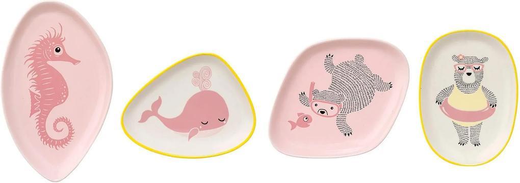 Farfurie Ellie Multicolora (se vinde la bucata) - Ceramica Multicolor Lungime(10cm) x W(14cm) x Lungime(14cm)x W(11cm)x Lungime(16cm)x W(13cm)x Lungim