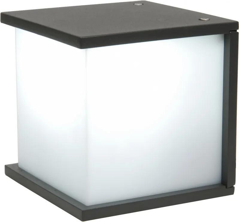 Lutec BOX CUBE 5184601118 Aplice pentru iluminat exterior gri închis aluminiu IP44 A