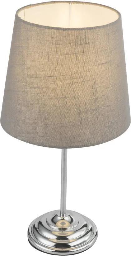 Globo 21001C Lampa de masa de noapte JAROME crom metal 1 x E14 max. 40W IP20