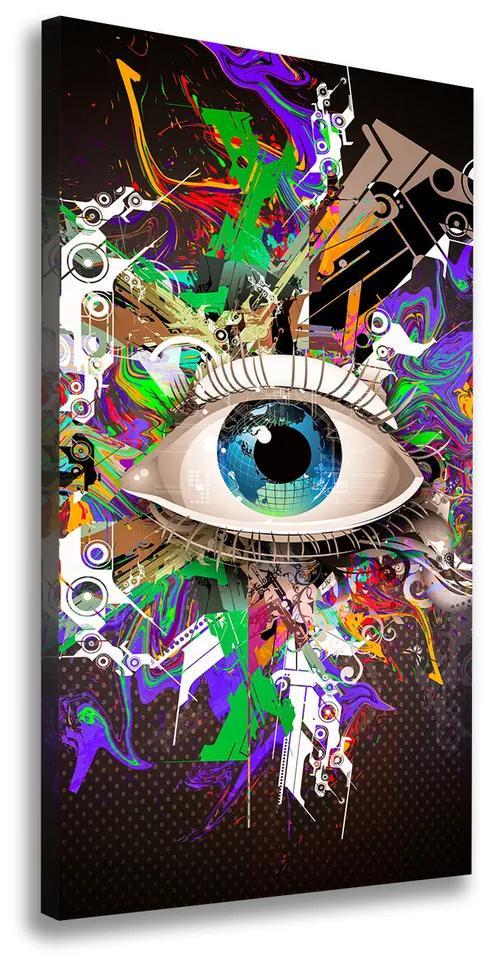 Tablou canvas Ochi Abstracție