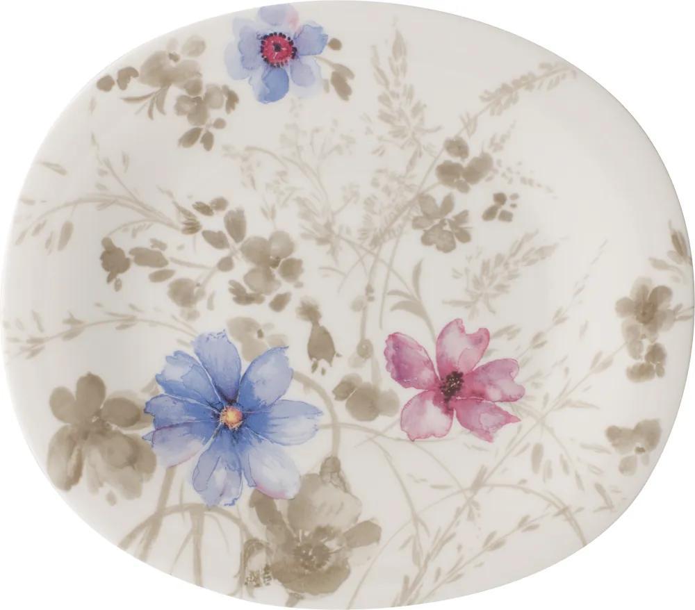 Farfurie ovală pentru salată, colecția Mariefleur Gris Basic - Villeroy & Boch