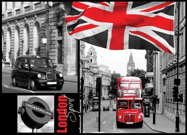 London Fototapet, (416 x 254 cm)