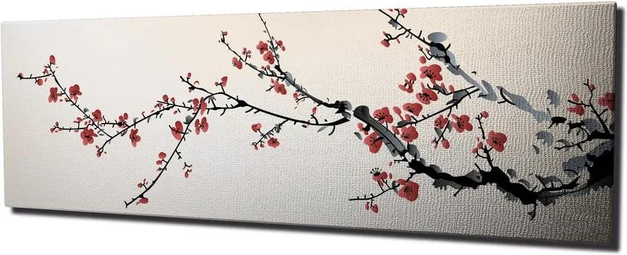 Tablou pe pânză Sakura, 80 x 30 cm