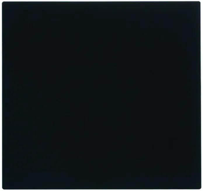 Tocator Sticla Schock Negru 408 x 394 x 4 mm