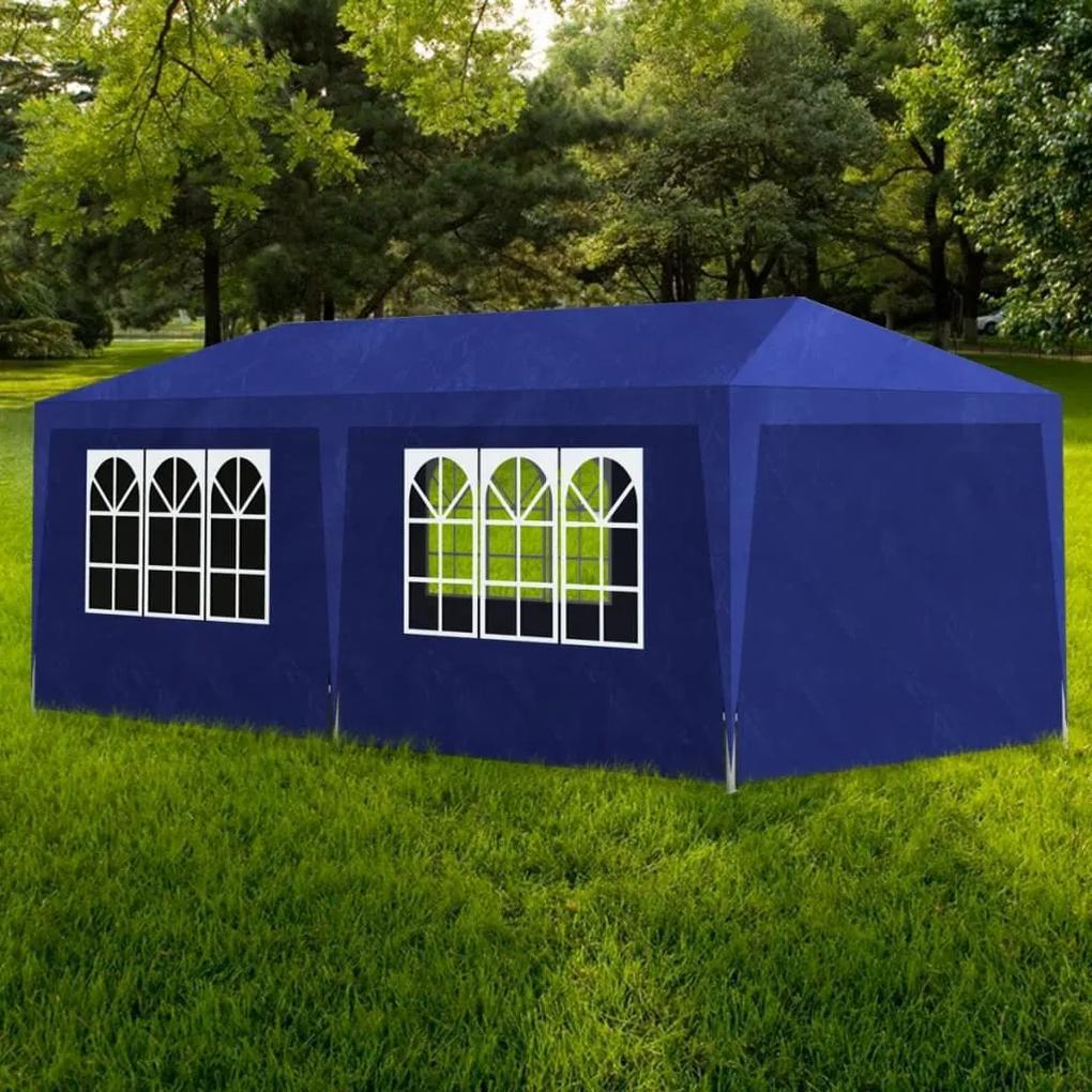 90337 vidaXL Cort de petrecere, albastru, 3 x 6 m