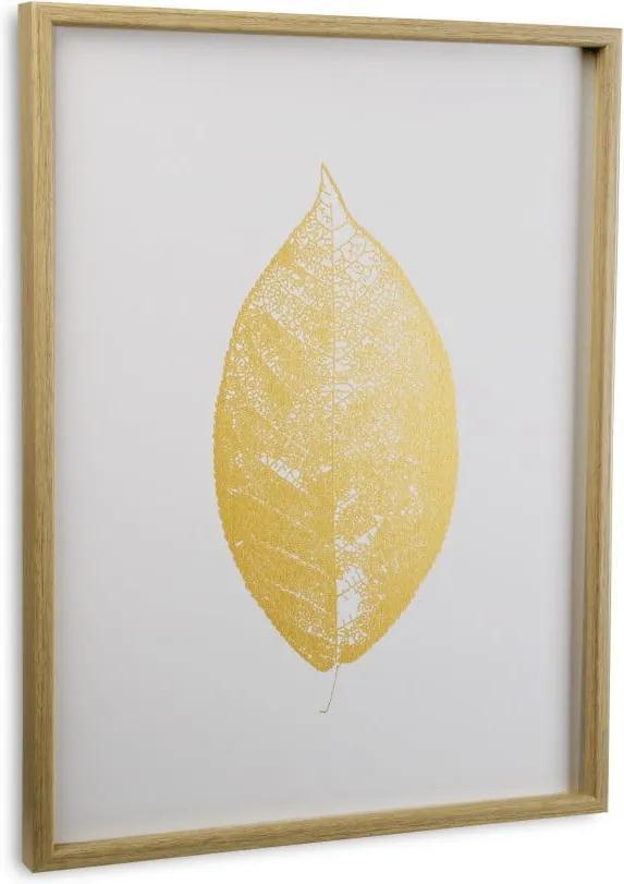 Tabou cu ramă Versa Leaf no. 2, 45 x 60 cm