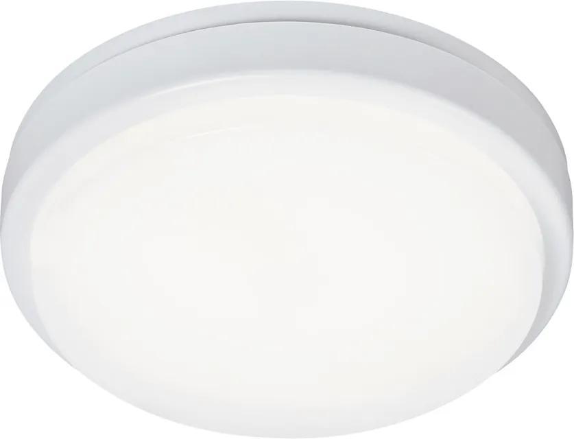 Rábalux Loki 2497 Plafoniere de exterior LED alb alb LED 15W 4,8 x 21 x 21 cm