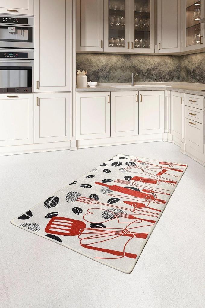 Covor pentru bucatarie Cooking DJT - 80x150 cm