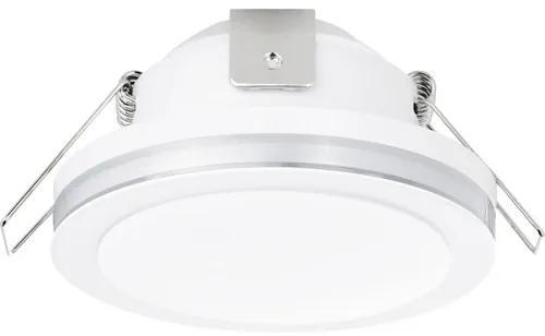 Spot incastrabil cu LED integrat Pineda 6W Ø82 mm, alb
