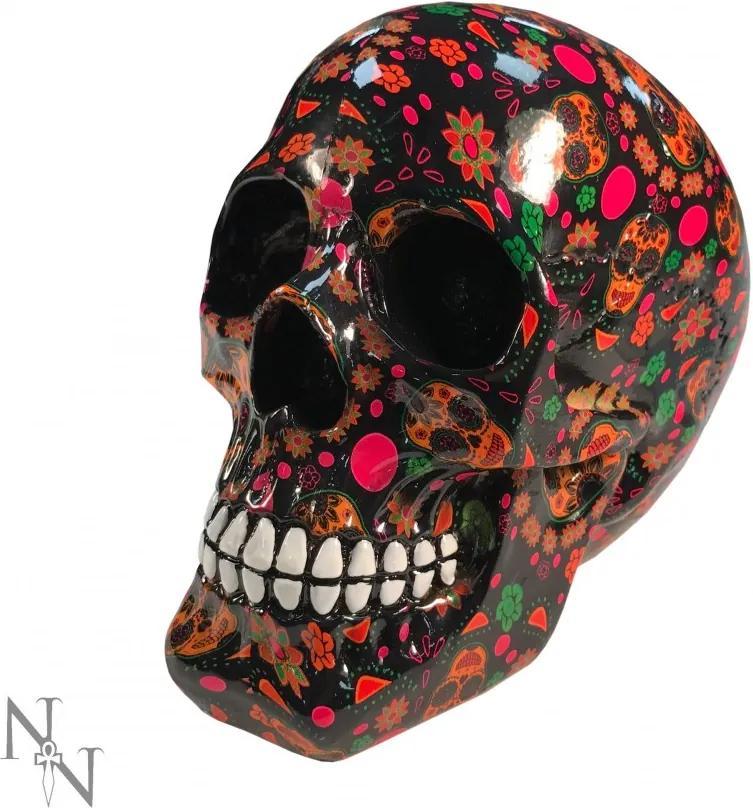 Statueta craniu Viva 19 cm