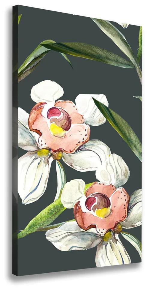 Tablouri tipărite pe pânză Model floral