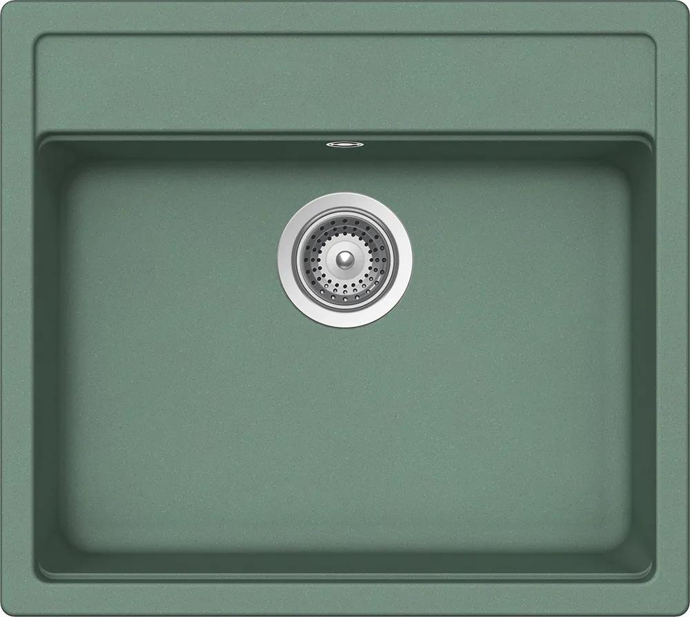 Chiuveta Granit Schock Nemo N-100 Sage Cristalite 570 x 510 mm