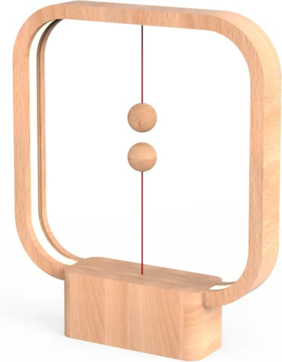 Veioză Heng Balance - Square - Lemn deschis