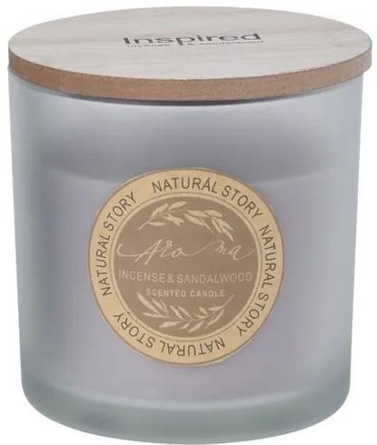 Lumânare în pahar Natural story Incense   Sandalwood