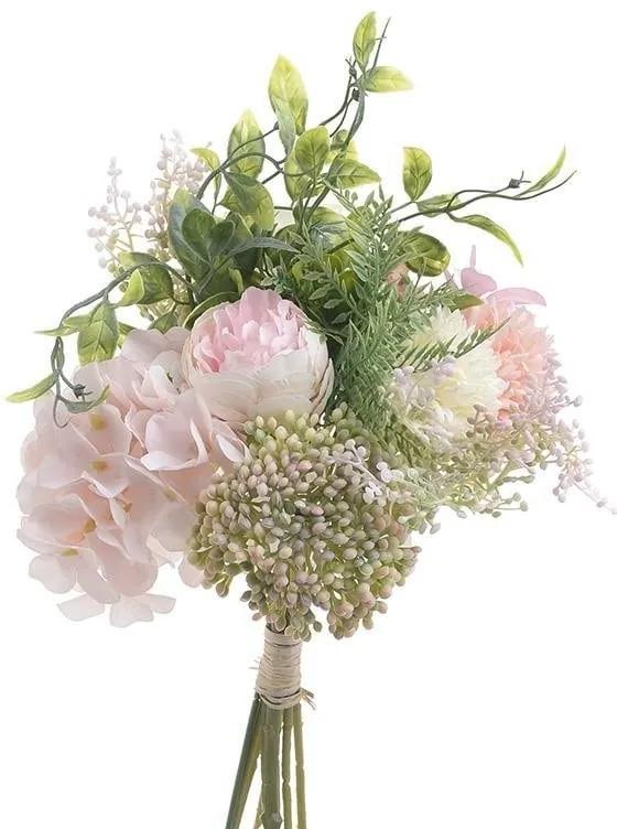 Buchet Pink Flowers 38 cm