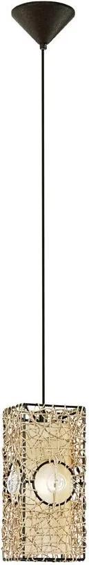 EGLO 91015 - Lampa suspendata NAMBIA 1xE27/60W
