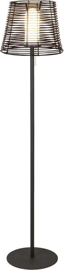 Rábalux Knoxville 8650 Lampadare exterior negru metal 1 x E27 max. 18W IP44