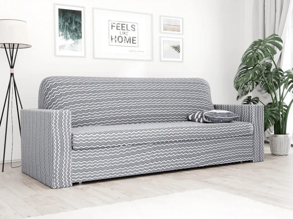 Husa elastica pentru canapea cu 3 locuri in gri Waves
