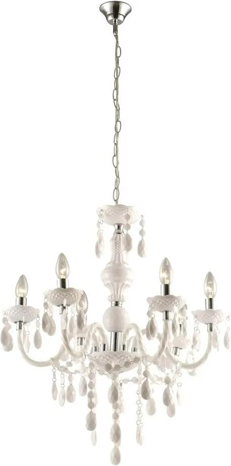 Globo 63113-6 Candelabre, Lustre CUIMBRA I crom 6 x E14 max. 40w IP20
