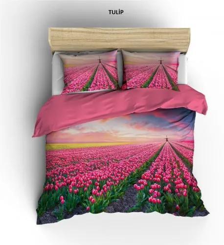 Lenjerie Dubla Digital Tulip