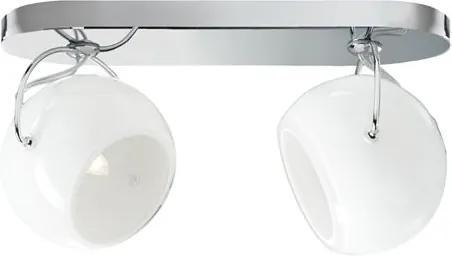 Beluga Albă I – Aplică cu 2 surse de lumină ajustabile