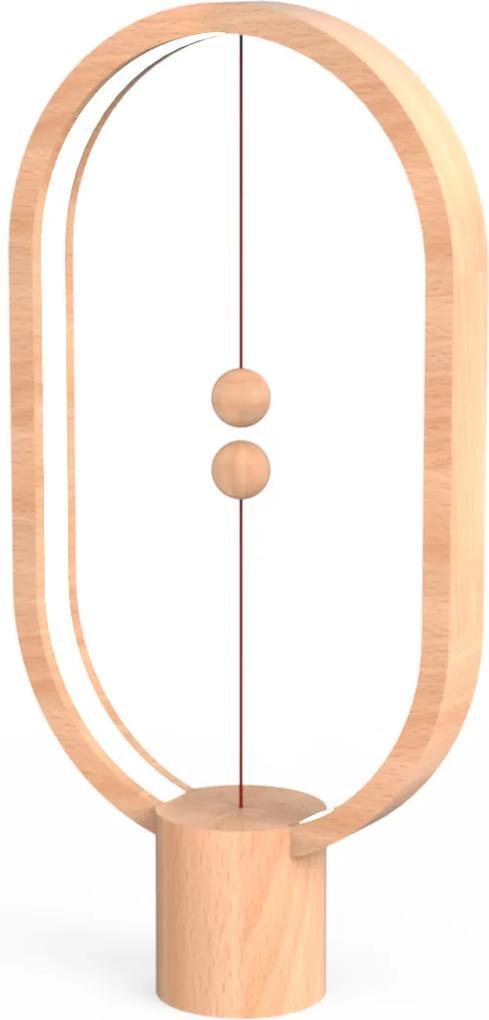 Veioză Heng Balance - Lemn - Deschis