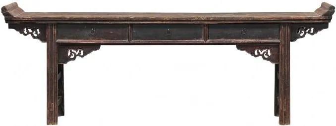 Consola din lemn 241x40cm Shanxi