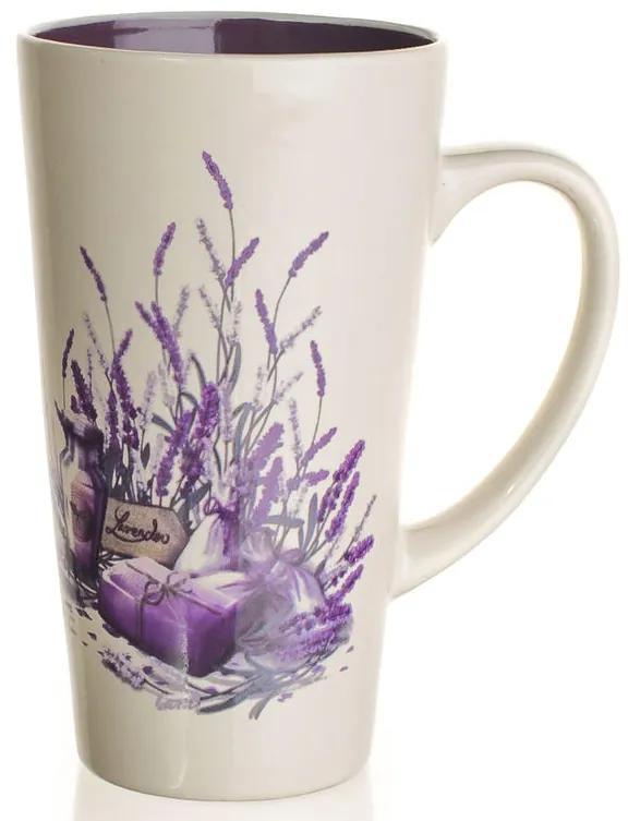 Ceașcă înaltă din ceramică 450 ml Lavender, BANQUET