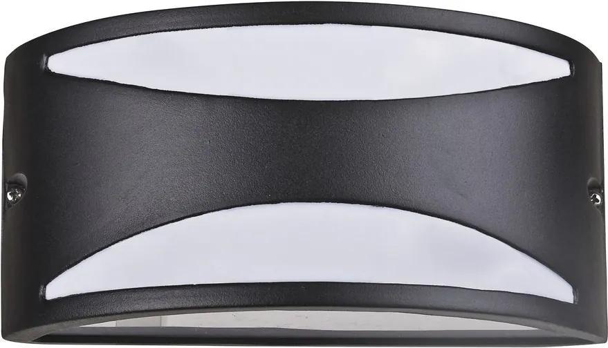 Rábalux Manhattan 8359 Aplice pentru iluminat exterior negru mat E27 1x MAX 60W 250 x 120 mm