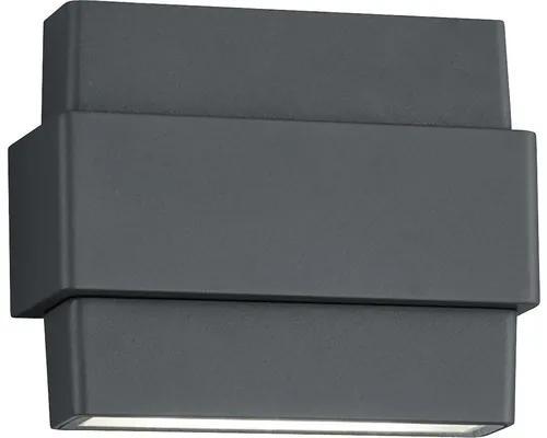 Aplica sus/jos cu LED integrat Padma 8W 840 lumeni, pentru exterior IP54, antracit