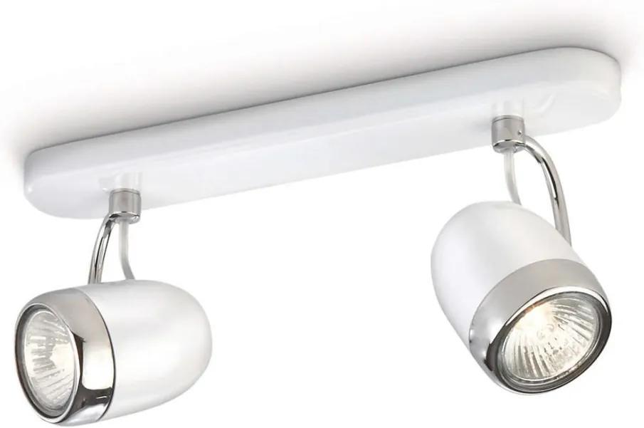 Philips 56482/31/16 - Lampa spot MYLIVING BALSA 2xGU10/35W/230V