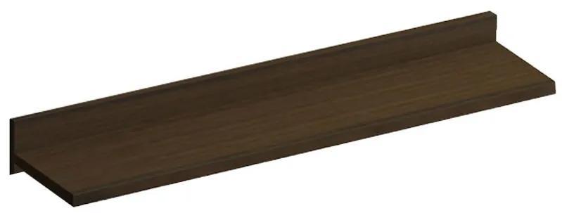 Raft suspendat Luna, 90x22x10 cm, PAL Wenge