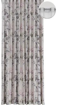 Draperie cu inele Samba imprimeu floral 250x245 cm
