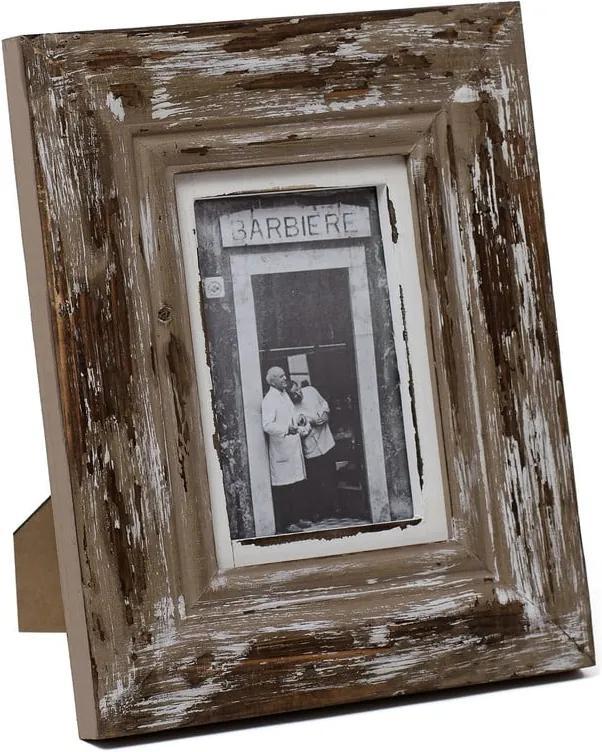 Ramă foto din lemn Ego Dekor, pentru fotografii 13 x 18 cm, maro