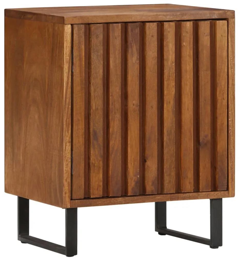 247942 vidaXL Noptieră, 40x30x50 cm, lemn masiv de mango