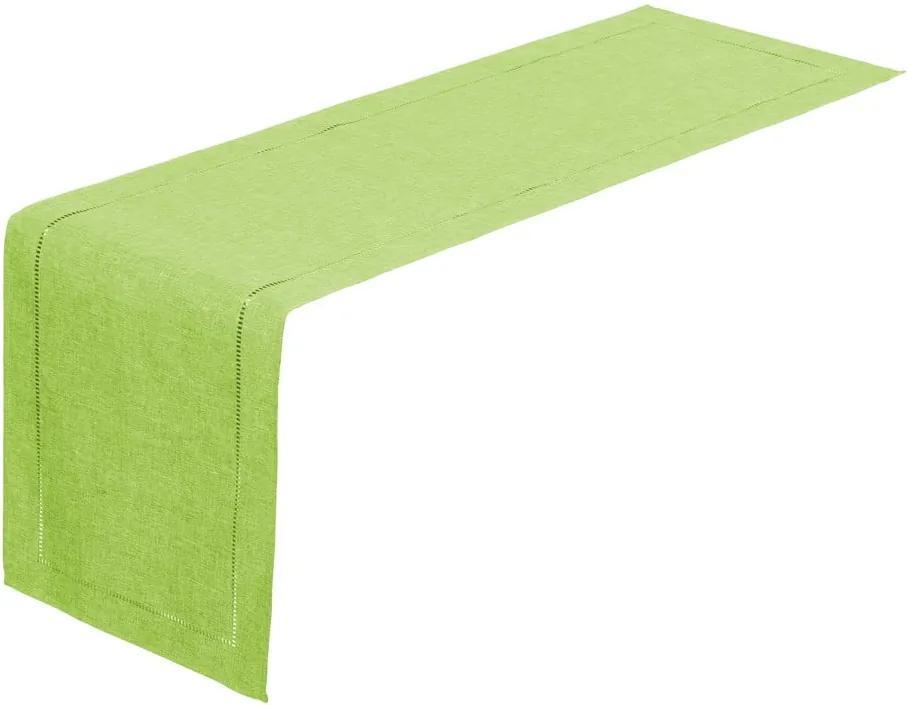 Napron Unimasa, 150 x 41 cm, verde