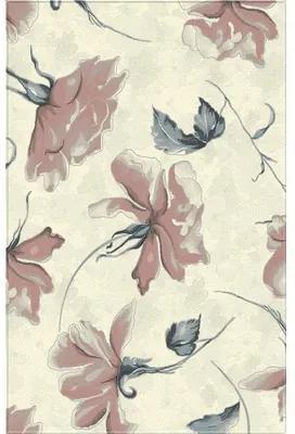 Covor sintetic Matrix model floral bej/roz 200x300 cm