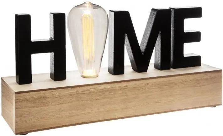 Veioza Atmosphera Retro Home, led, 34x16x8 cm