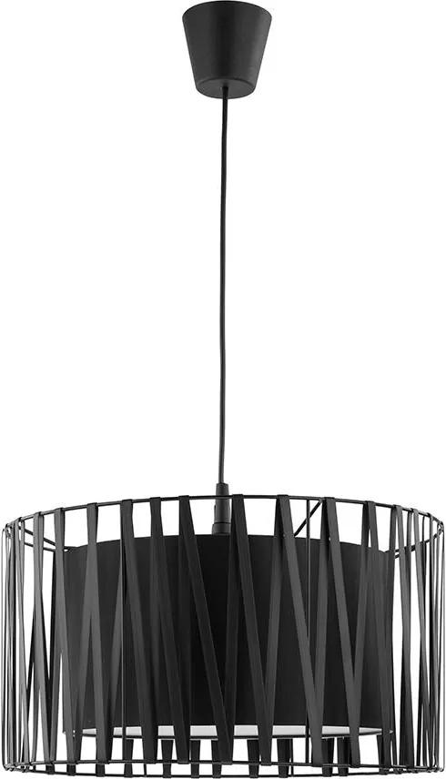 Lustra pe cablu HARMONY BLACK 1xE27/60W/230V