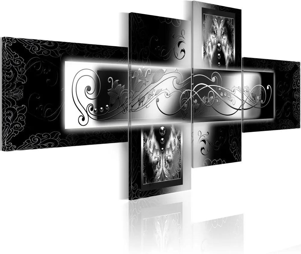 Tablou Bimago - Angels wings 100x45 cm
