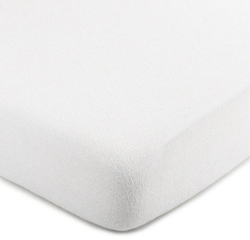 Cearșaf frotir 4Home, alb, 220 x 200 cm, 220 x 200 cm