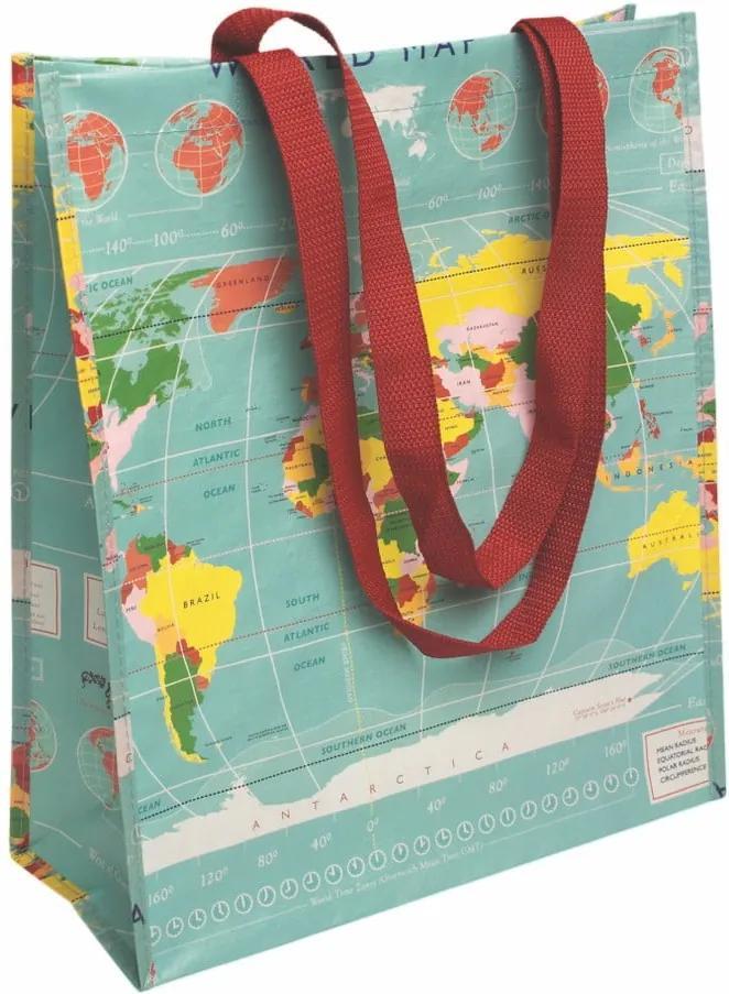 Sacoșă de cumpărături Rex London World Map