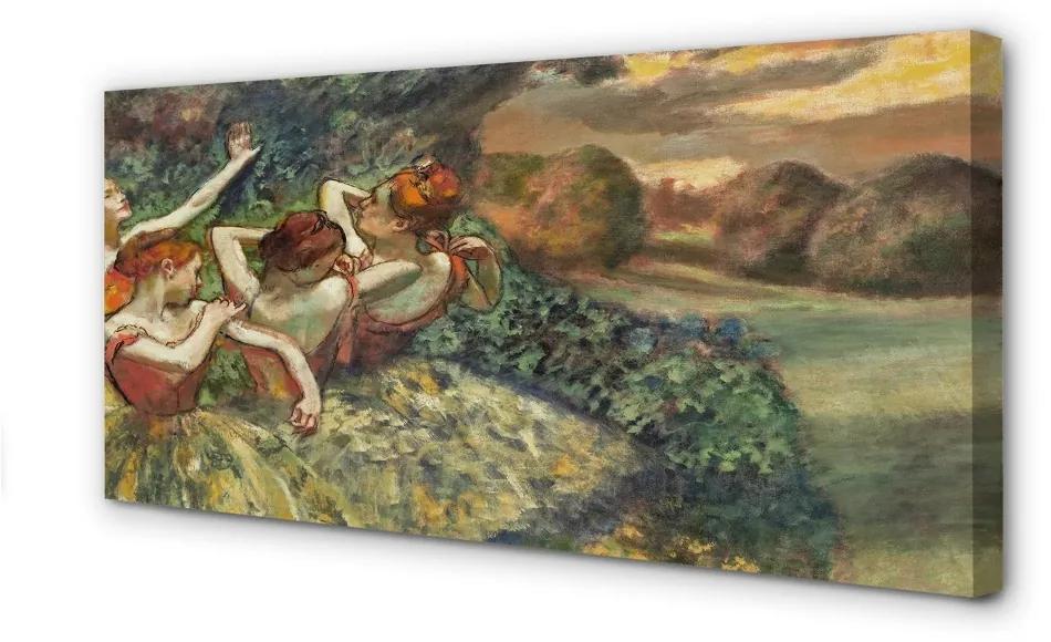 Tablouri canvas Tablouri canvas Balerine în pădure